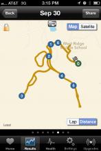 ibiker map