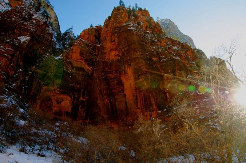 Zion-sun-rays