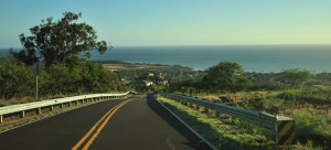 downhill from WaimeaPark 300x136 Biking in Kauai   Is it Possible