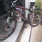 Mountain Bike after muddy trail